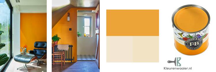 farrow and ball dutch orange 76