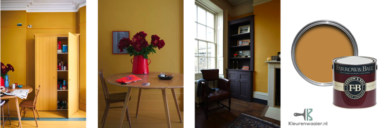 farrow and ball india yellow 66
