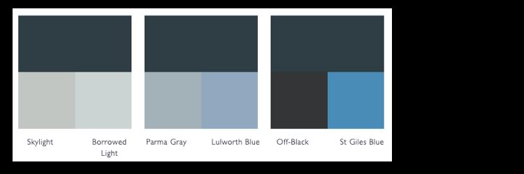 kleurschema hague blue