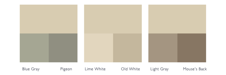 kleurschema off white