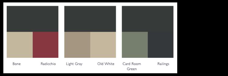 kleurschema studio green