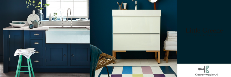 little greene hicks blue 208