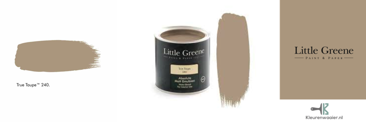 little greene true taupe 240