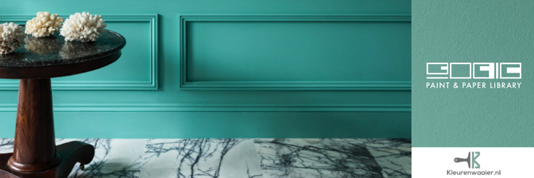 paint and paper library deep water green 599