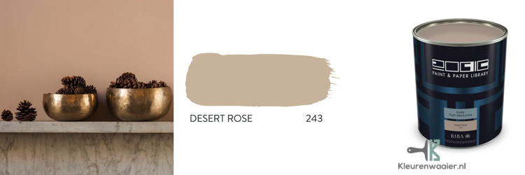paint and paper library desert rose 243