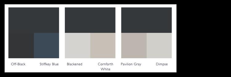 kleurschema railings