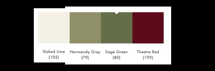 kleurschema sage green