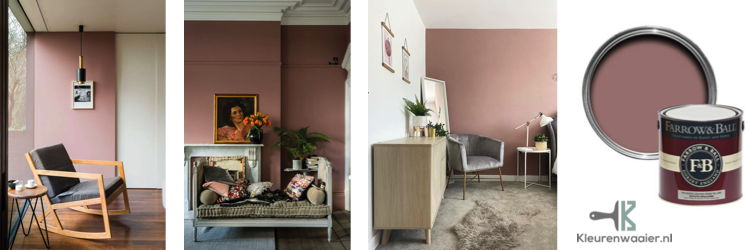 farrow and ball sulking room pink 295