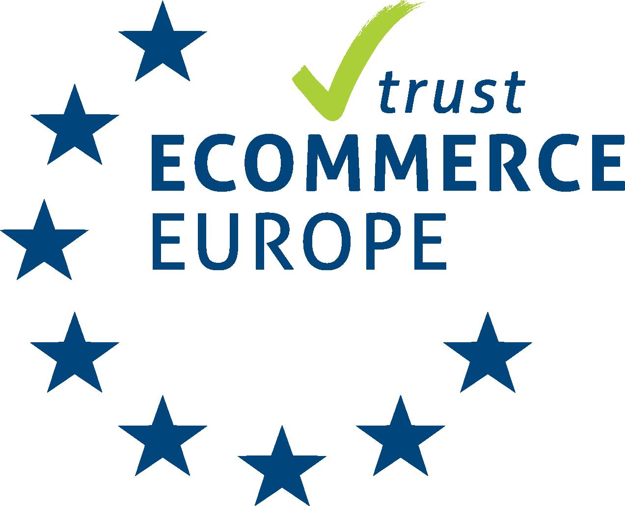 Ecommerce Europe Trustmark Kleurenwaaier