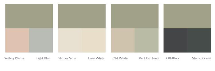 Kleurschema Lichen
