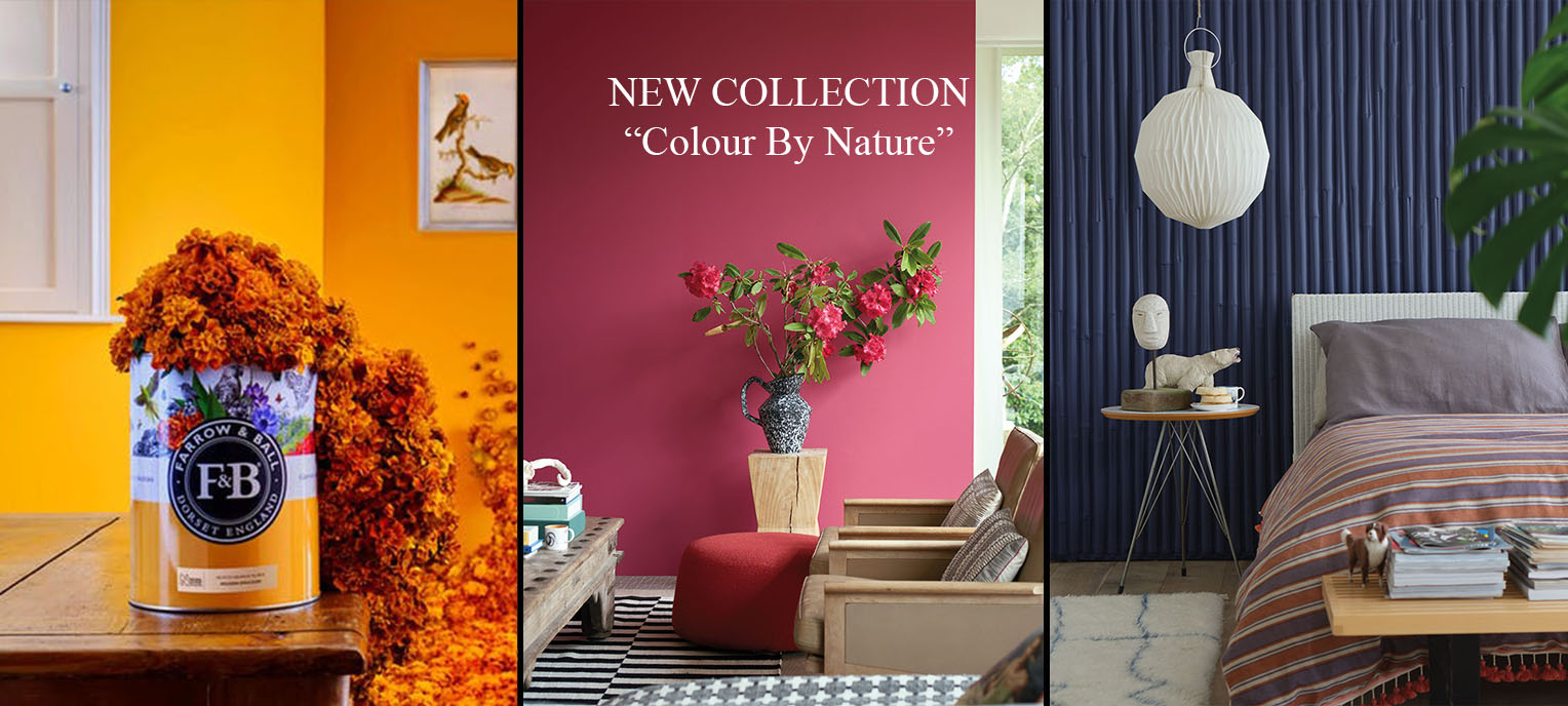 Farrow and Ball Colour by Nature