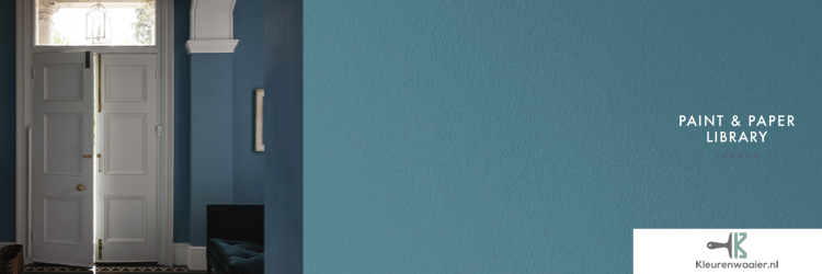 Staalblauw muurverf grijs
