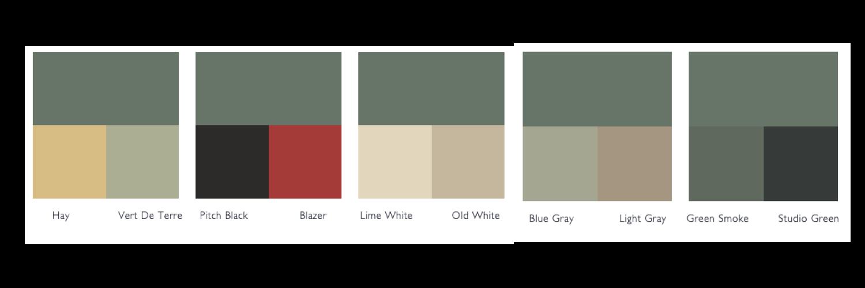 kleurschema Castle Gray