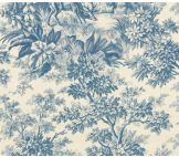 Little Greene Stag Toile Juniper