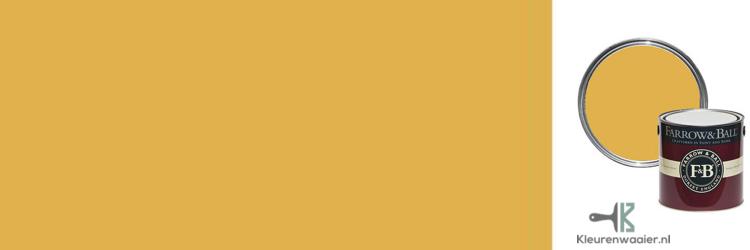 Goud geel muurverf