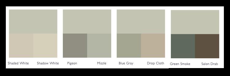 Kleurschema Cromarty
