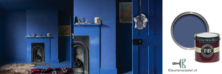 Warm Blauw - Kobaltblauw muurverf