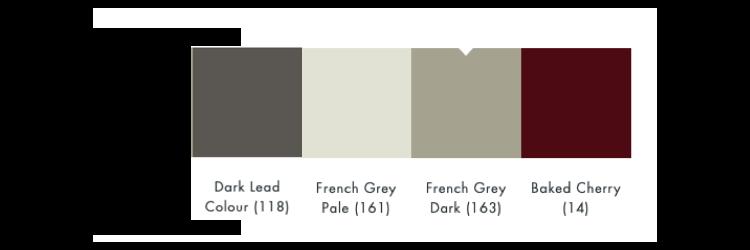 kleurschema french grey dark