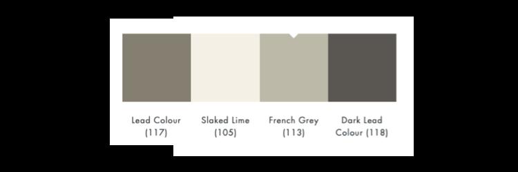 kleurschema french grey