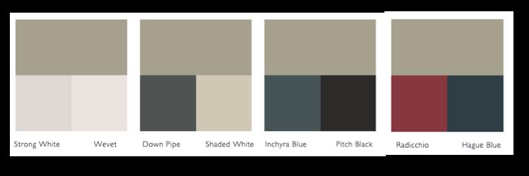 Kleurschema Hardwick White