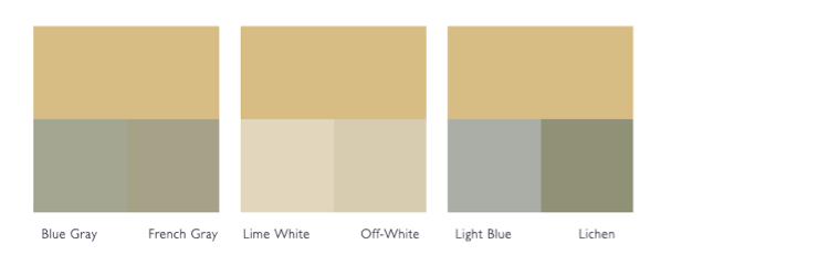 Kleurschema Hay
