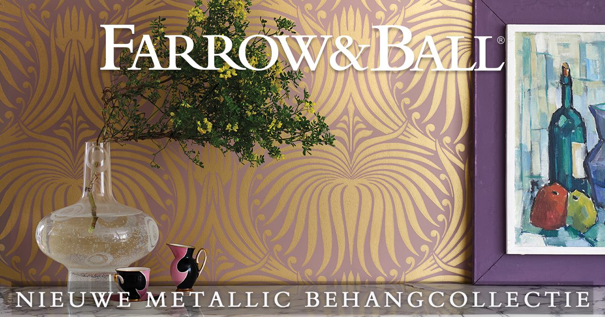 Farrow & Ball behang bij Kleurenwaaier.nl