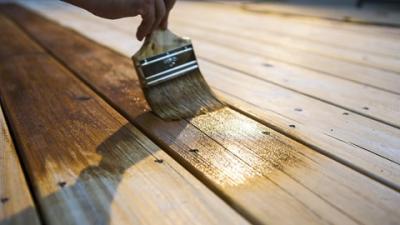 Bescherm hout met een laagje beits!