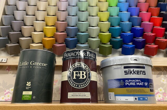 Sikkens, Little Greene of Farrow & Ball?