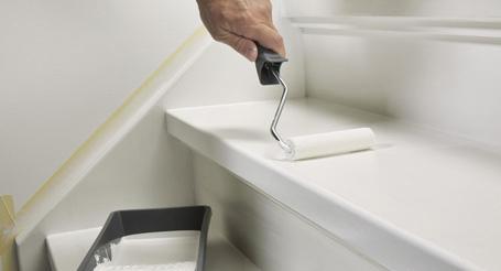 Hoe schilder je een trap?