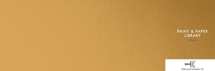 Goud lichtbruin muurverf