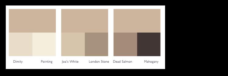 Kleurschema Oxford Stone