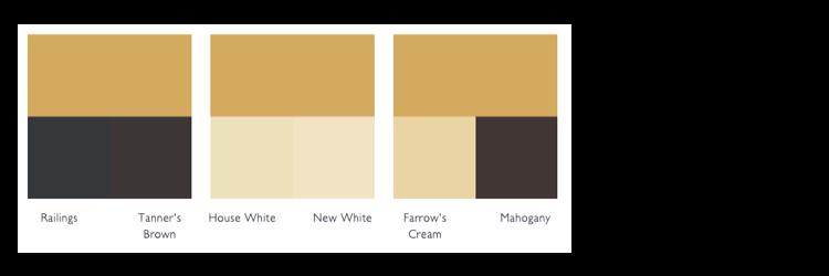 kleurschema Sudbury yellow