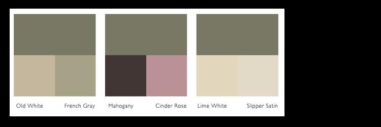 Kleurschema Treron