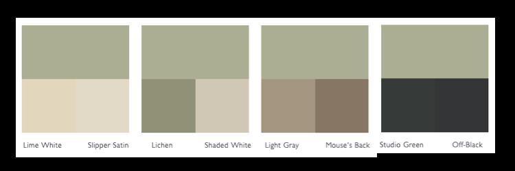 Kleurenschema Vert De Terre
