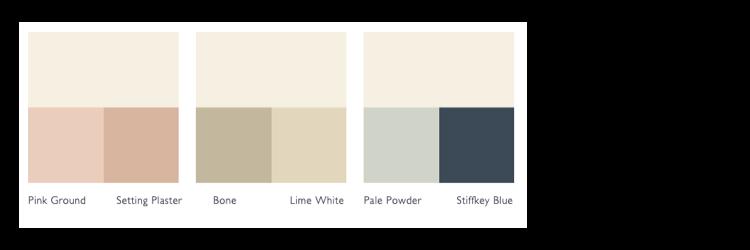 Kleurschema Wimborne White